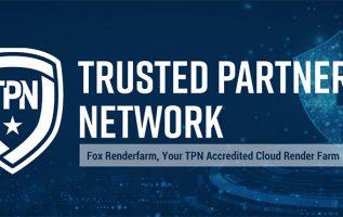 Fox Renderfarm has become a TPN (Trusted Partner Network) Vendor. 5