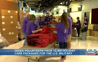 The FedEx Foundation distributing 12,000 holiday packages to service members overseas 4