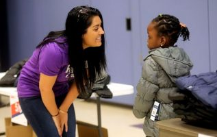 The FedEx Foundation's Operation Warm teams up to provide coats for 250 Utah students 4