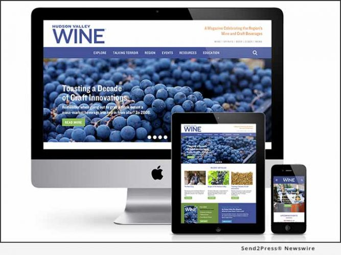 Hudson Valley Wine Magazine Launches Mobile-Friendly Website As 'Go-To' Source for Consumers, Visitors, Media, and the Trade 12