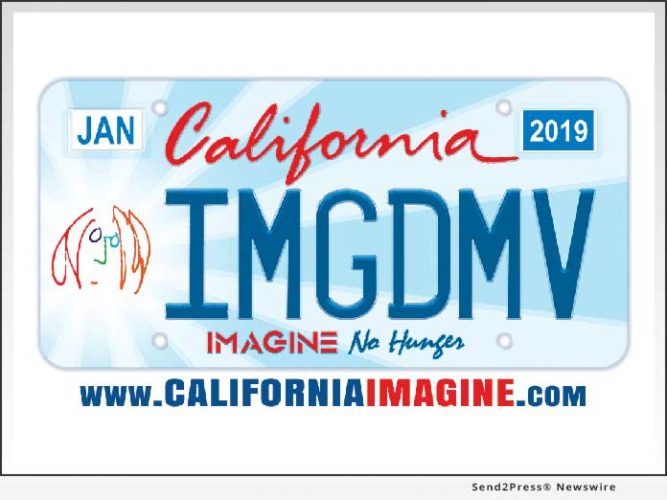 Michael Towner and Iconic Legacy Announces Free Sign-Up for the California Imagine No Hunger License Plate to Celebrate Hunger Action Month and John Lennon's 79th Birthday 13