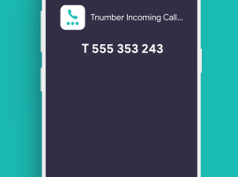 Tnumber invented a new digital telecom system that ultimately puts permanent END to unstoppable robocalls, spam calls, and spam messages 3