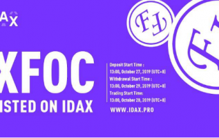 XFOC to be listed on IDAX 5