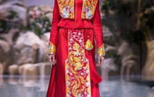 TIAN XI Chinese Dress Series Launches in Beijing 5