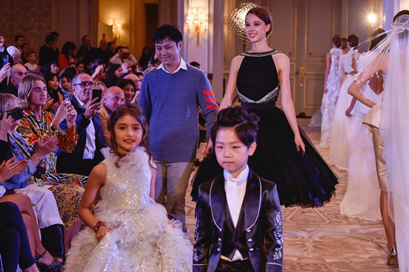 LIU LISI Haute Couture retrospective collection was successfully held in Paris 4