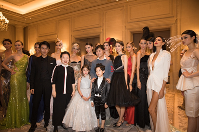 LIU LISI Haute Couture retrospective collection was successfully held in Paris 5