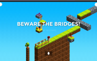 Beware the Bridges, A Casual Mobile Strategy Game Application, Goes Viral, Promising Players Hours of Entertainment 3