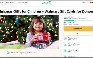 GoFundMe Started to Provide Christmas Gifts for Underprivileged Children 2