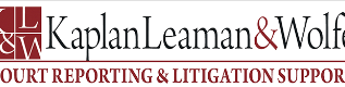 Kaplan, Leaman, & Wolfe Court Reporters – Marlton, NJ, Offers Court Reporting Services 3