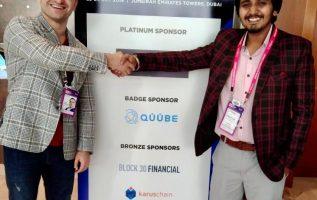 Deepanshu Bhatt joins hand with Quube Exchange at WBS Dubai 3