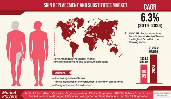 Skin Replacement and Substitutes Market to Observe the Highest Growth in the Coming Years 1