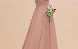 Chiffon Has Become The Most Popular Choice For Bridesmaid Dresses 1