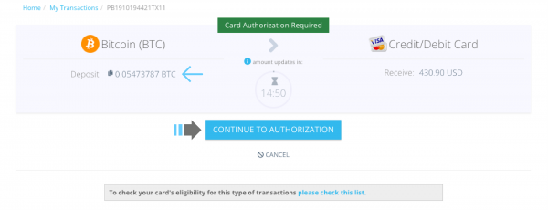 Paybis adds direct Bitcoin to Credit/Debit Card transfers 3