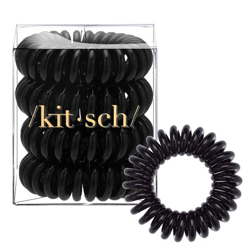 Kitsch Spiral Hair Ties are the optimal choice for ladies to hold their hair with style 5