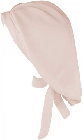 Kitsch Blush Satin Hair Bonnet are becoming the regular hair accessory for women who have kinky hair 1