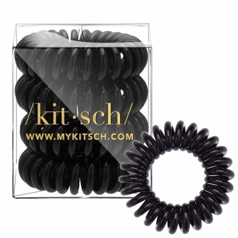 Kitsch Black Hair Ties are now available in 4-piece pack and people are ready to restock their accessories 1