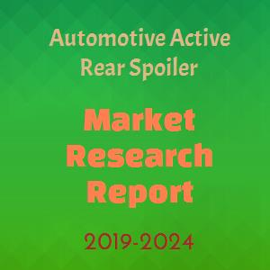 Automotive Active Rear Spoiler Market 2019 Global Trends, Market Share, Industry Size, Growth, Sales, Opportunities, and Market Forecast to 2023 1
