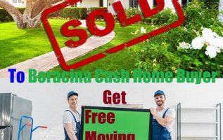 Boracina Cash Home Buyer Offer Free Moving Service to Homeowners