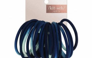Kitsch Ombre Navy Hair Bands are the ideal hair ties because they look perfect on all types of hair 4