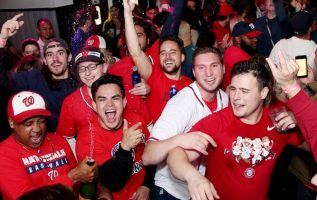 DC Area Bars are Excited to Celebrate the National's World Series Victory 2