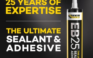 Everbuild Continue to be the UK's Leading Sealant Brand and Manufacturer in the UK 2