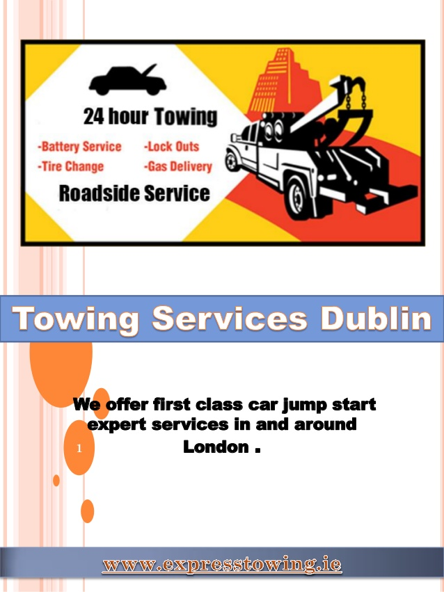 Express Towing Offers Affordable Car Recovery Service in Dublin 1