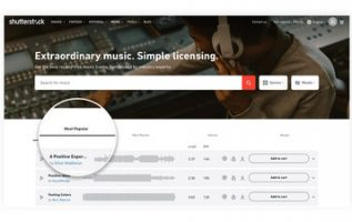 Shutterstock Announces Unlimited Music Subscription and New Features 5