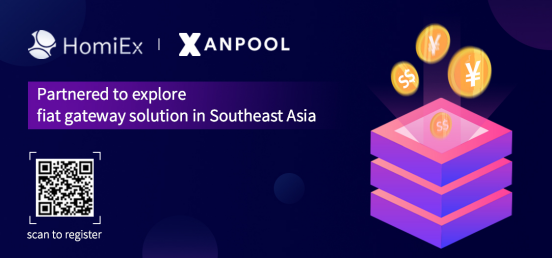 HomiEx and XanPool partnered towards the crypto-fiat gateway solution in Singapore 1