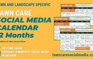 2020 Lawn Care Social Media Calendar To Increase Customers – Growing Profits 2