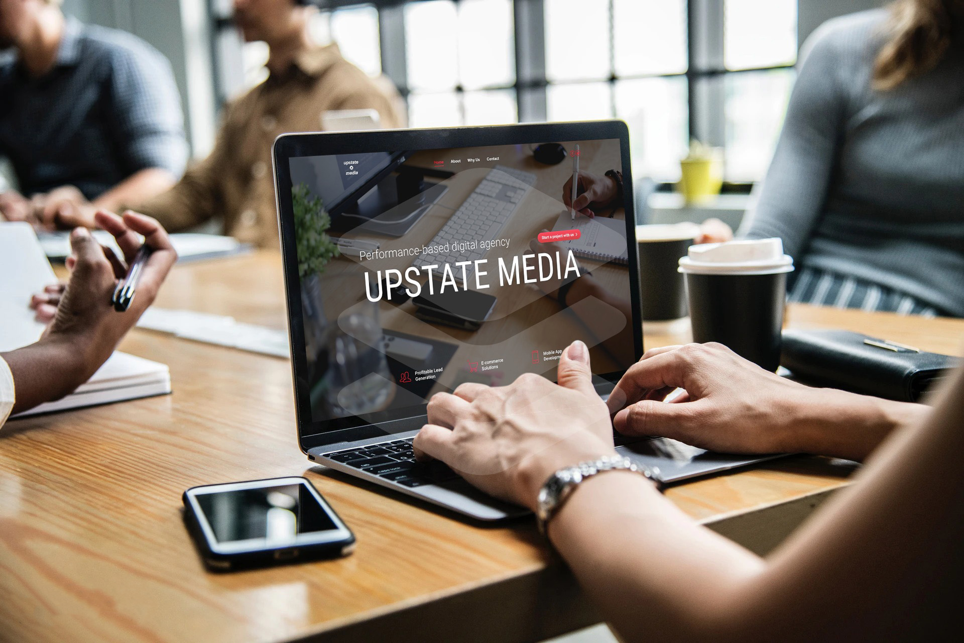 Upstate Media Inc. Is Turning More Visitors Into Buyers By Improving The Conversion Rate 1