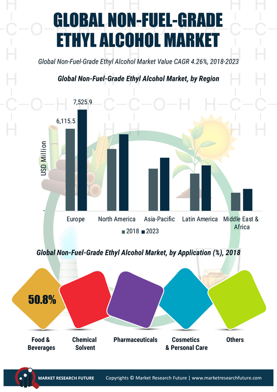 Non-Fuel Grade Alcohol Market 2019: Global Key Players, Trends, Share, Industry Size, Segmentation, Opportunities, Forecast To 2023 1