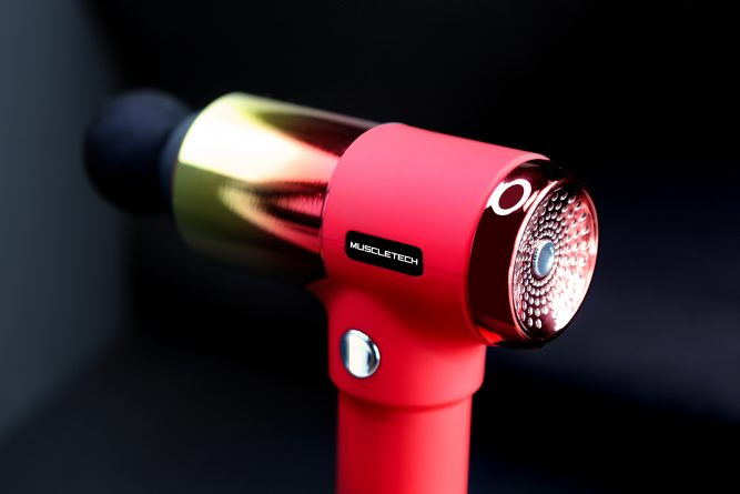 The world spotlighted on vibration massage device, 'MUSCLETECH – Massage Gun' 4