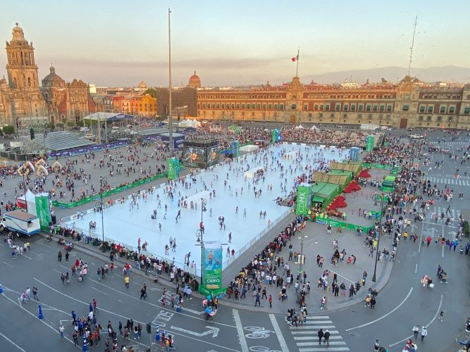 ECO-SKATING RINK REPLACES THE WORLD'S LARGEST ICE RINK IN MEXICO CITY 1