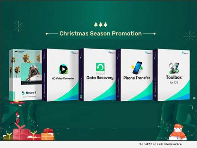 2019 Christmas – iSkysoft Offers a Smart Software Solution for Video and Data 9