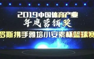 Tianyin Sports honored the Best Marketing Award of 2019 4