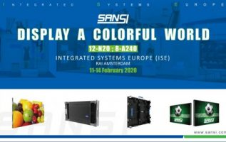 SANSI to Reveal Fine Pixel Generation of Solutions at ISE 2020 3