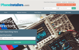 Phone Installers Launches Newly Redesigned Website 3