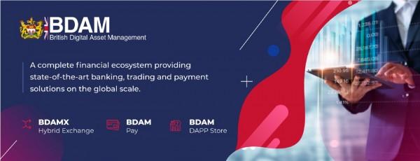 BDAM Foundation Launched BDAMX, BDAM Pay and BDAM dApp Store 2