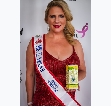 Rock Star Partnership Announced: Ms. Texas Elite Woman of Achievement Teams Up with 3rd Rock Essentials and Happy Living 4