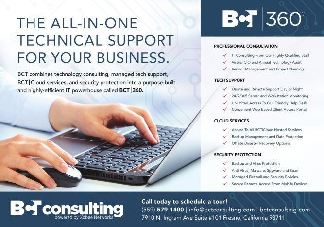 The Fresno IT Support Team at BCT Consulting, Inc. Offer turn-key IT Support For Businesses 1
