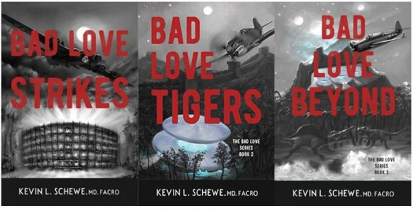 Fans of 'Bad Love Gan' Sci-Fi Book Series Embrace Musical Soundtracks on Spotify© 1