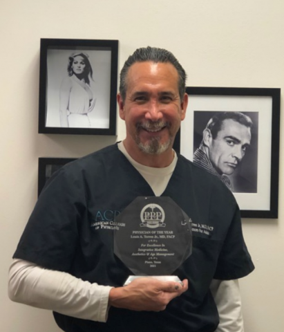 """Dr. Louis A. Torres Jr., MD, FACP is Meritoriously Named """"Physician of the Year"""" Representing Internal and Integrative Medicine For The State of Texas 1"""