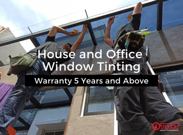 House Window Tinting by I Tint Specialist in Selangor, Malaysia for Privacy, Security, and Lower Power Bills 2
