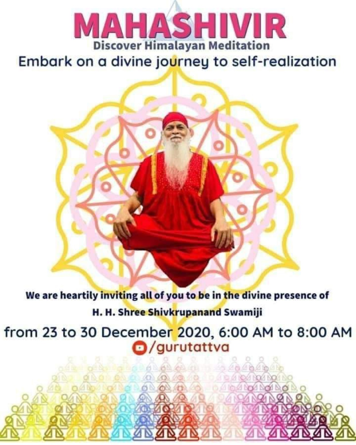 'Guru Tattva' Sets Out to Help the World Achieve Bliss By Offering 8 Days Online Mega Meditation 1