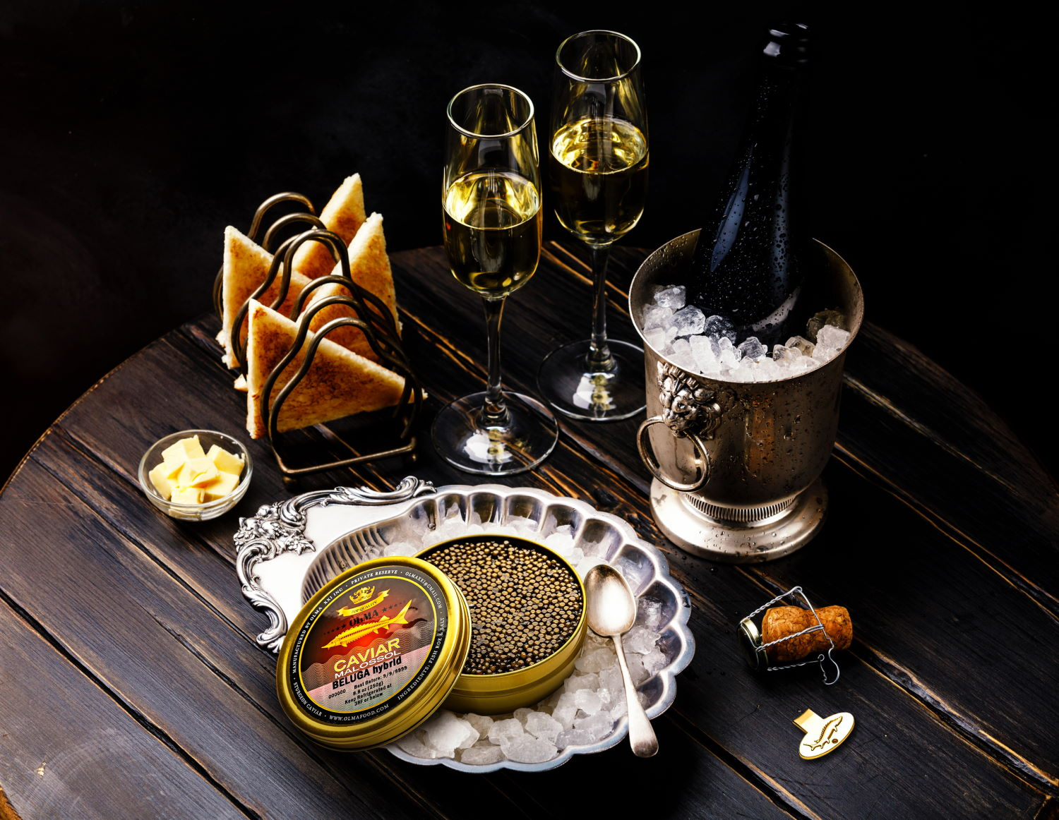 Leading caviar company, OLMA, launches updated website; announces Holiday discounts 1