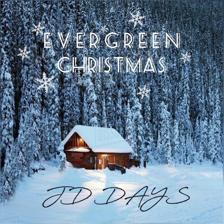 JD Days moves up the charts with Evergreen Christmas to number 2 on radio distribution charts for most downloads 1