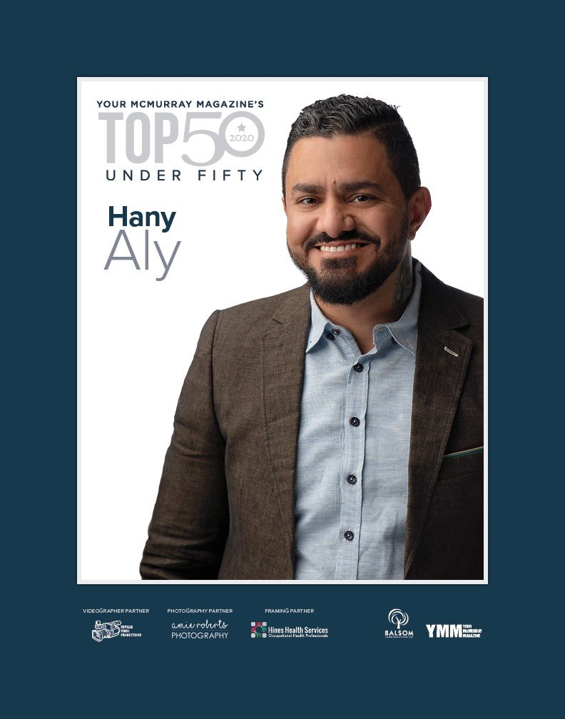 Hany Aly of 4 Seasons Moving Named Among Your McMurray Magazine's Top 50 Under Fifty 1