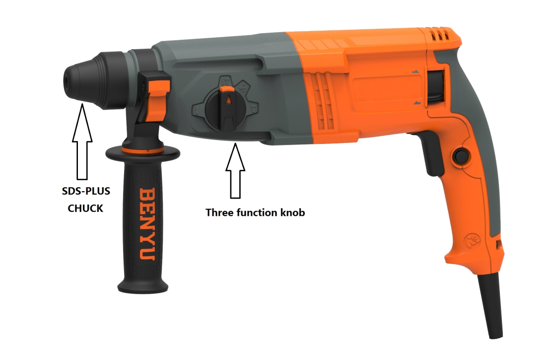 Difference Between Impact Drill And Rotary Hammer 1