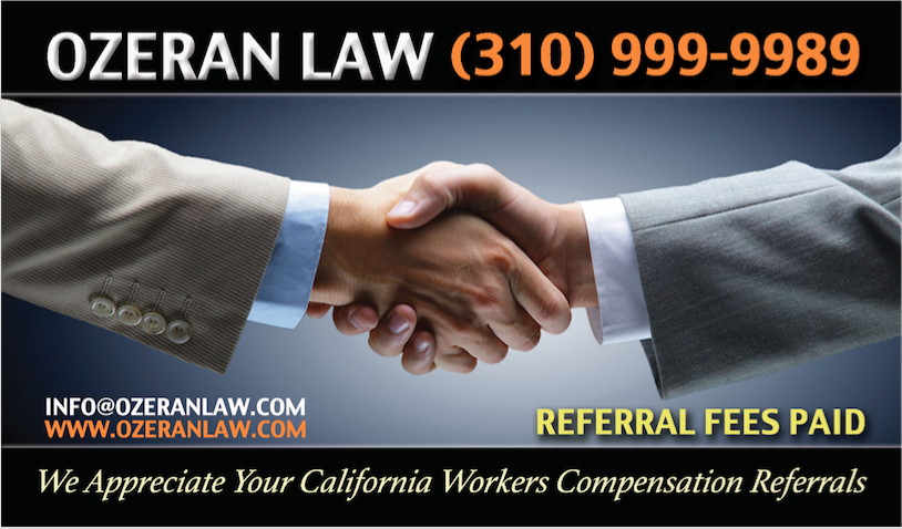 The Los Angeles Workers' Comp Lawyers at Ozeran Law Have Been Helping Injured Workers in Southern California for Over a Decade 1