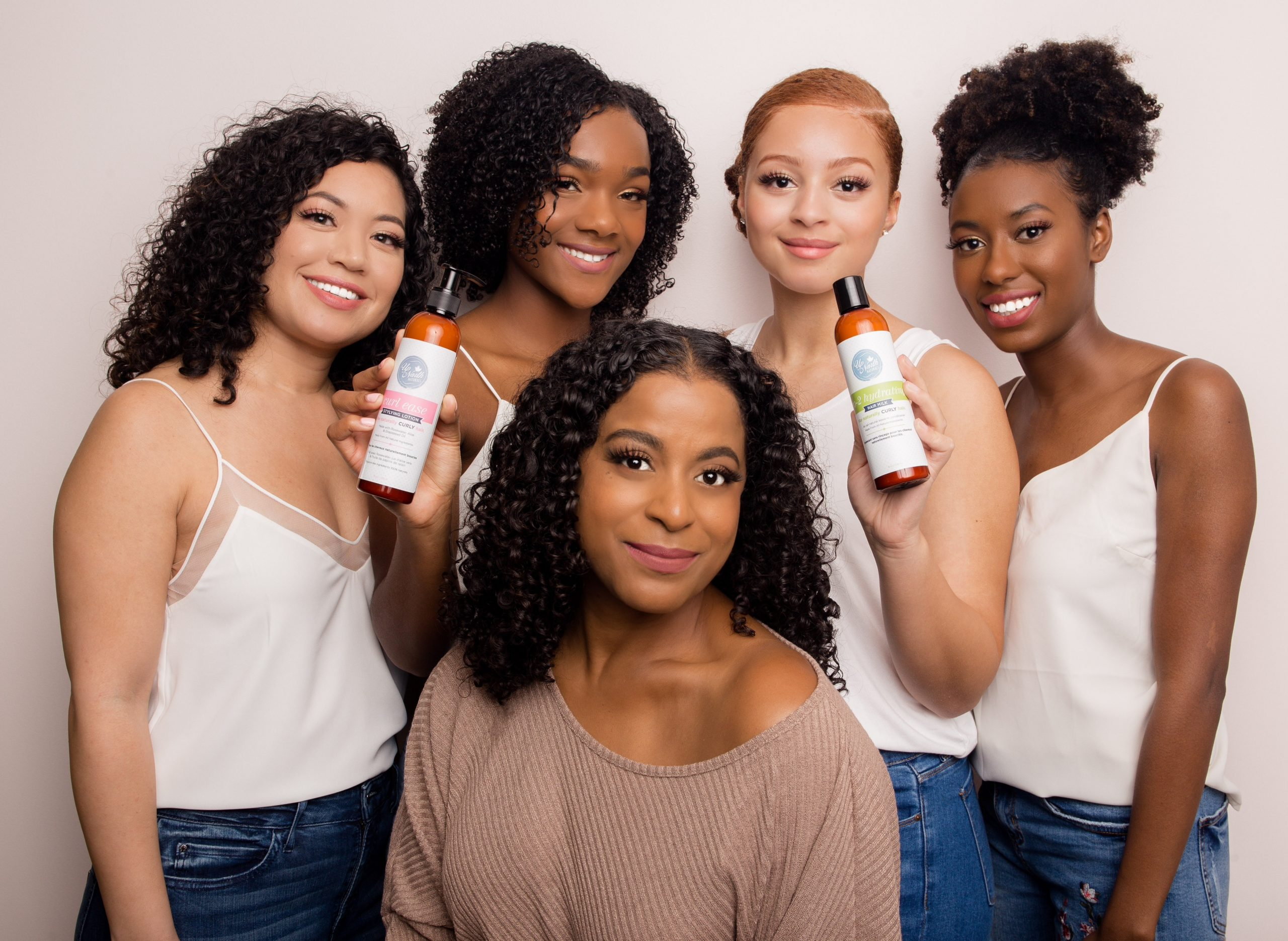 Natural Curly Hair Products Provide a Hydrated, Well-Defined and Healthy Crown. 1